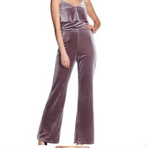 Jack by BB Dakota Bert Velvet Jumpsuit